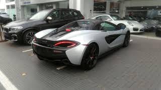 Vídeos Rápidos - Avenida Europa #778 - McLaren 720S prata #3