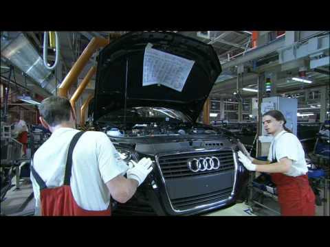 Audi TT Production YouTube - Audi car maker