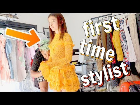 first time getting a STYLIST Mall Shopping vlog & Clothing Haul