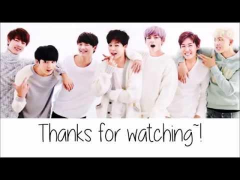 Bangtan Boys - I like it pt. 2  in that place (Color Coded Lyrics: Hangul, Romaji, English)