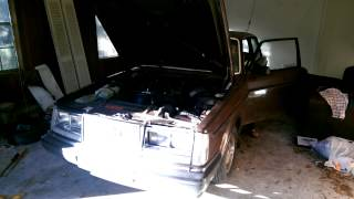 1984 Volvo 242 K cam first start