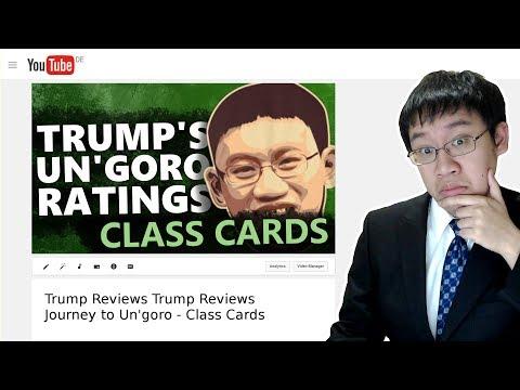 Trump Reviews Trump Reviews: Journey to Un'Goro Class Cards