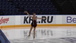 Tursynbaeva Elizabet SP Minsk-Arena Ice Star-2017