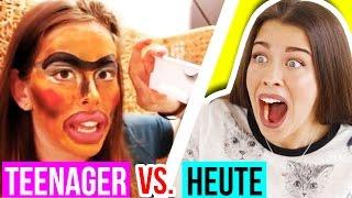 FRÜHER vs HEUTE 😂 GEHEIMES 1. TEENAGER VIDEO GEFUNDEN! UNVERÖFFENTLICHTES erstes!!