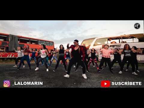DURA REMIX - Daddy Yankee Ft Bad Bunny Natti Natasha Becky G (Coreografia ZUMBA) / LALO MARIN