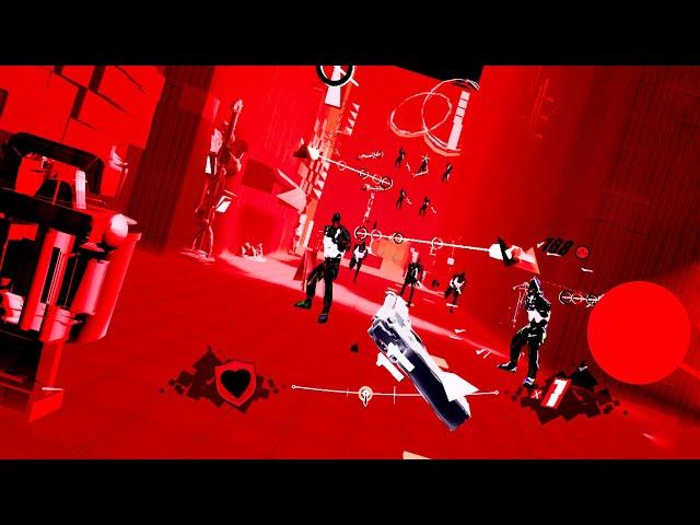 Pistol Whip Oculus Quest VR (ALVR) gameplay - John Wick? More like Grosse Pointe Blank
