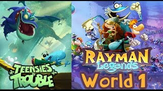 Rayman Legends - World 1: Teensies in Trouble (4 players)