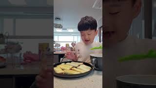 슬기로운 방학생활 마늘빵 만들기 1편~!!