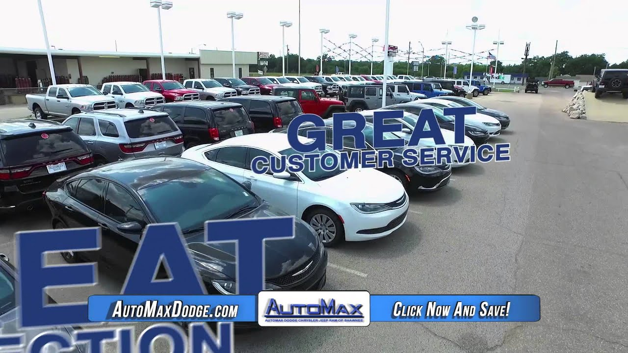 AutoMax CJDR Shawnee OK Cars For Sale