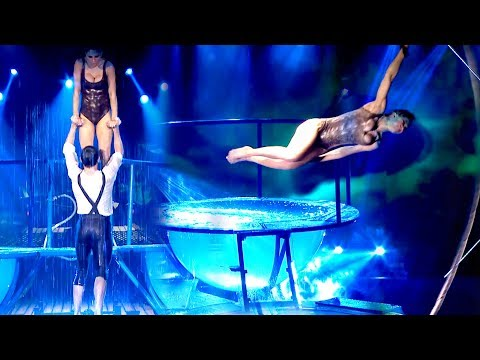 ¡Mirá el impresionante Aquadance de Cinthia Fernández y Gonzalo Gerber que sorprendió a todos!