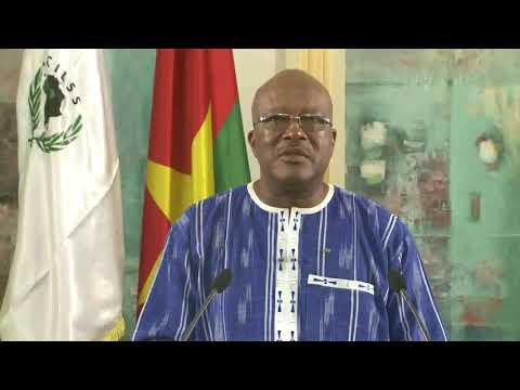 Message de SEM Roch Marc Christian KABORE Président en exercice CILSS 33ème journée CILSS