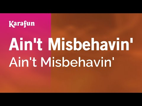 Karaoke Ain't Misbehavin' - Ain't Misbehavin' *