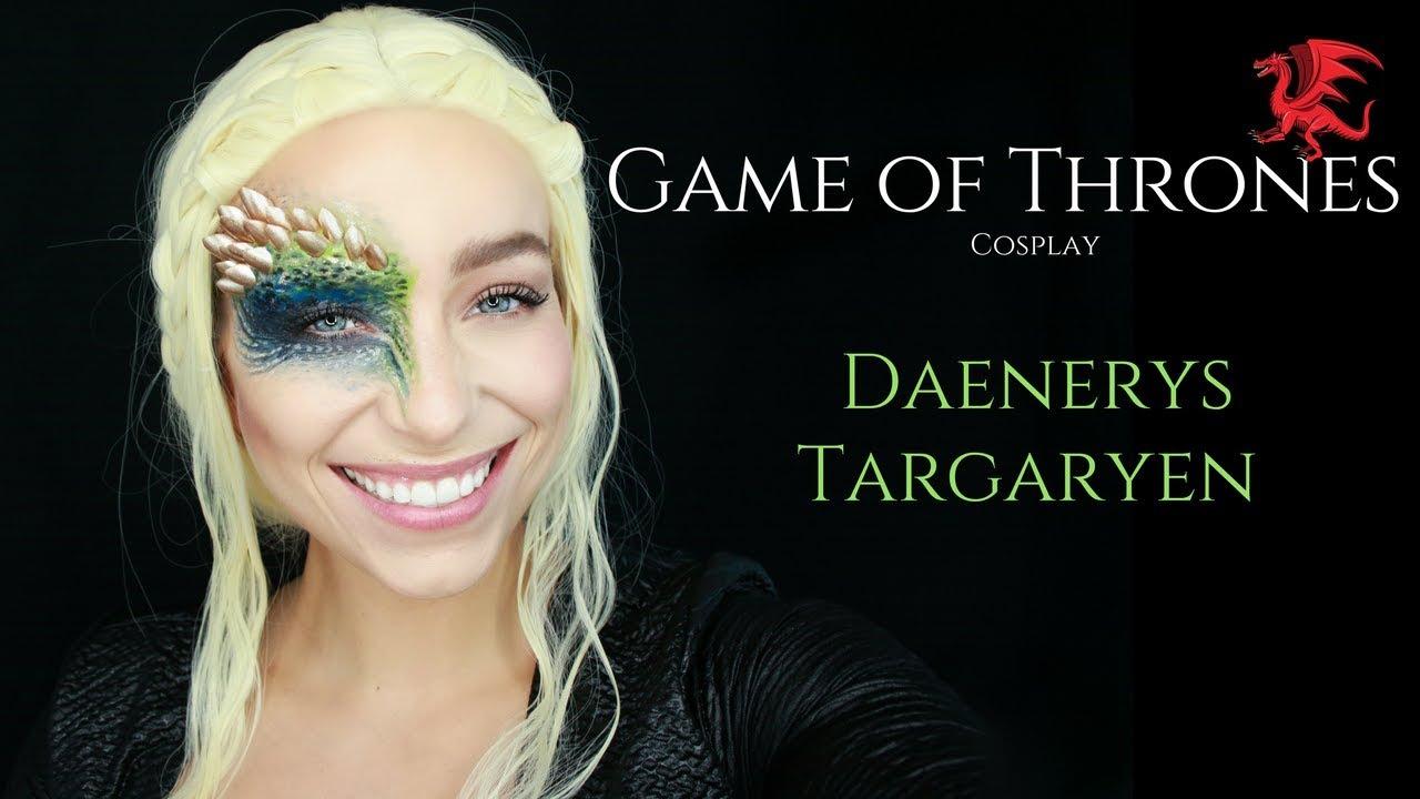 Daenerys Targaryen Mother Of Dragons Makeup Tutorial Youtube