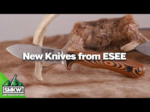 SMKW: New ESEE Knives