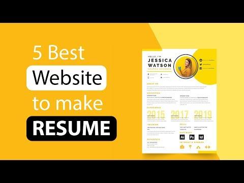 5 Best Free ResumeBuilder Website !!