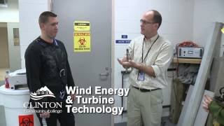 Clinton Community College Wind Energy & Turbine Technology