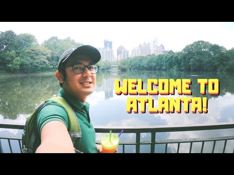 Filipino Explores Piedmont Park In Midtown Atlanta