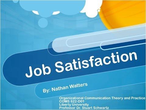 Job Satisfaction Presentation 2013