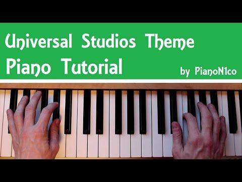 Universal Studios Theme | Piano Tutorial | How To Play | HD