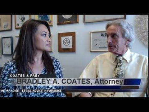 BRADLEY A COATES Divorce Attorney Honolulu Episode #35 Legal Advice in Paradise