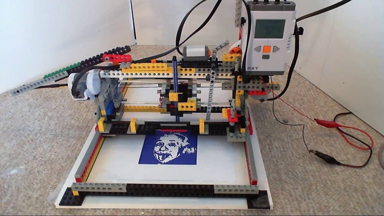 My LEGO Printer / Plotter NXT Mindstorms (old version) [HD ...