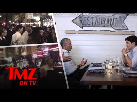 Barack Obama & Justin Trudeau – Man Date! | TMZ TV