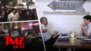 Barack Obama & Justin Trudeau – Man Date! | TMZ TV