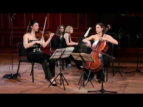 Cortona Trio plays Schubert - Piano Trio No. 1 in B-flat major, D. 898  II. Andante un poco mosso