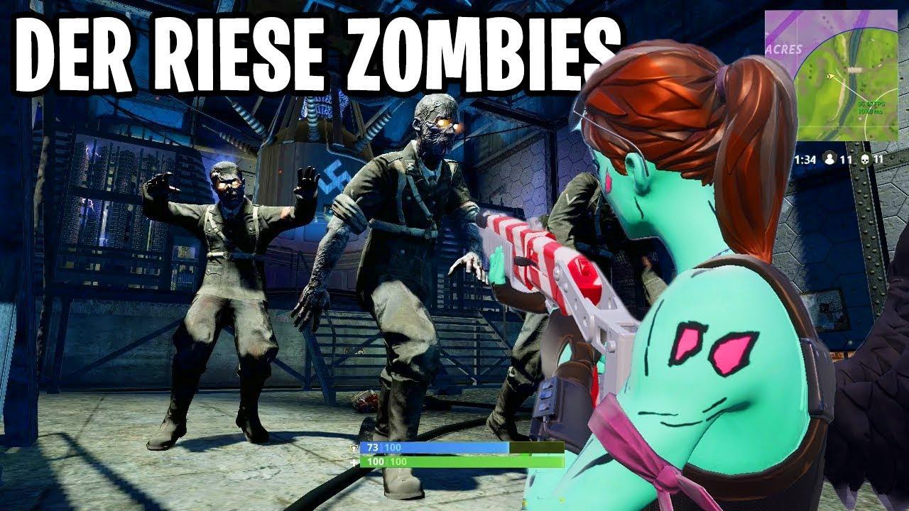 Der Riese In Fortnite W Zombies Fortnite Black Ops 4 Custom Creative Map
