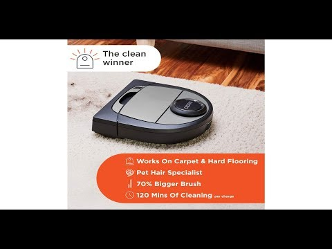 Neato Robotics D7 Connected Laser Guided Smart Robot Vacuum   Wi Fi Connected, Multi Floor Mapping,