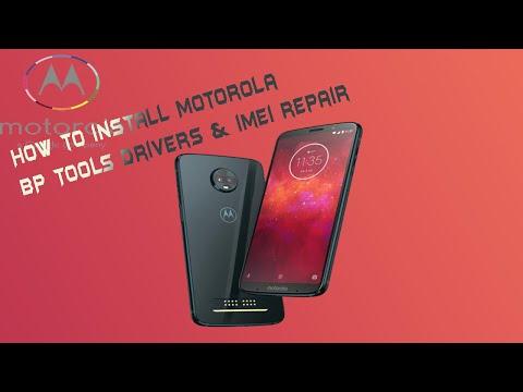 How To Install Motorola BP Tools Drivers & IMEI Repair | In Hindi Urdu