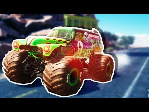 Is This The ULTIMATE Monster Truck Game? CRAZY Destruction! - Monster Jam: Steel Titans