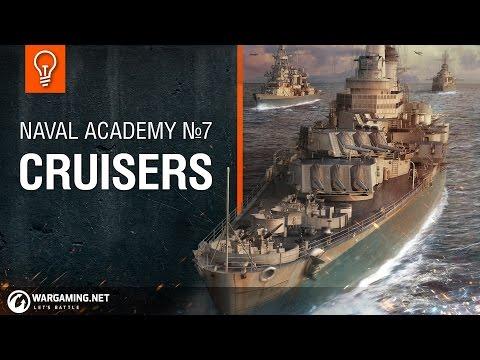 Naval Academy: US Cruisers