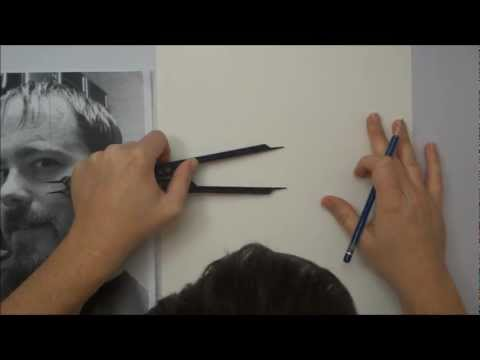 Portrait Drawing For Beginners- Part 1- The Layout