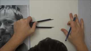 Portrait Drawing for Beginners -- Part 1 -- The Layout