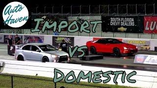 Camaro LSX vs Mitsubishi Lancer Ralliart