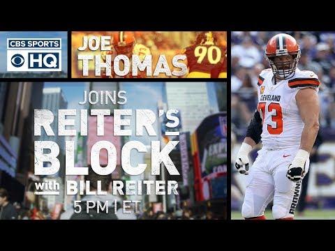 Joe Thomas talks Browns, Baker Mayfield   Reiter's Block