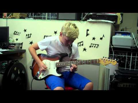 Take The Seven - Through The Crossfire Guitar Cover