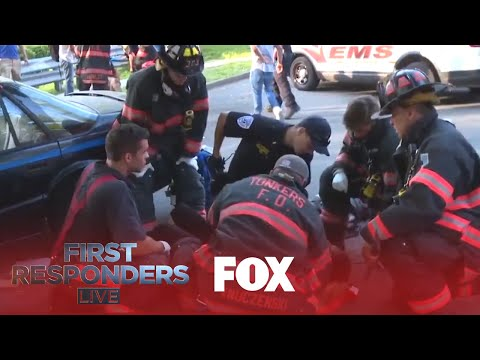 The First Responders Arrive At A Crash Scene | Season 1 Ep. 5 | FIRST RESPONDERS LIVE