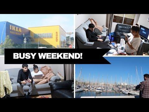 WEEKEND VLOG: IKEA HAUL+PORT OF BARCELONA