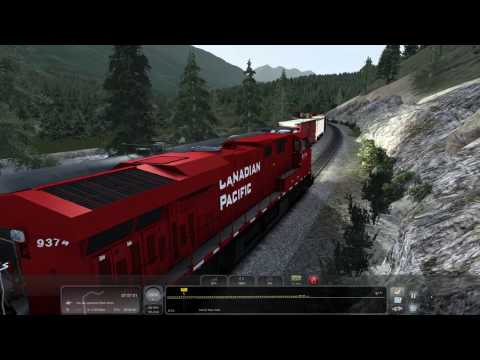 TS2017 - [CP ES44AC] Canadian Pacific Train 198 Pt. 2 - 4K UHD