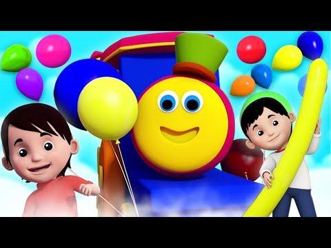 เพลงลูกโป่ง | เพลงบ๊อบรถไฟ | Bob Balloon Song | Kids Tv Thailand | เพลง เด็ก อนุบาล