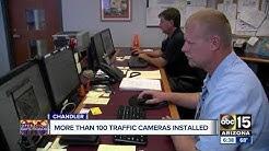 More than 100 traffic cameras installed in Chandler to enforce pedestrian, biker safety