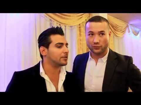 Valy and Hamid Rahimi in Afghan Award RTA Television