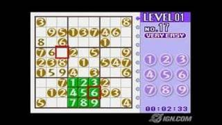 Dr. Sudoku Game Boy Gameplay - Solve the puzzle