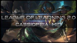 [ITA] NON POSSO COMPRARE SCARPE - CASSIOPEIA MID - League Of Legends