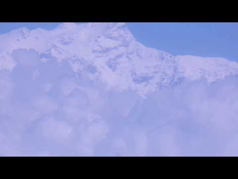 Mountain Range from Flight