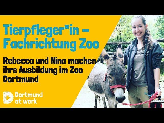 Ausbildung zum*r Tierpfleger*in im Zoo Dortmund