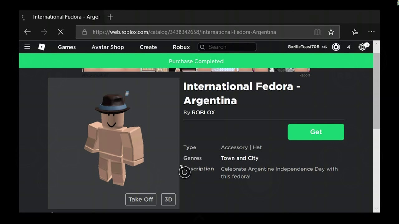 How To Get Avatar Shop Items On Roblox Xbox One Youtube