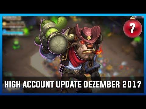 HIGH ACCOUNT UPDATE DEZEMBER 2017 | Castle Clash [TÜRCHEN 7 🎄]